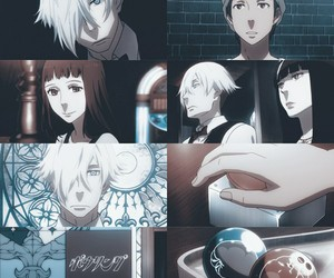 anime, cute, and death parade image
