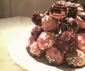 sweets, cakepops, and yum image