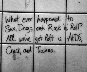 aids, crack, and good old days image