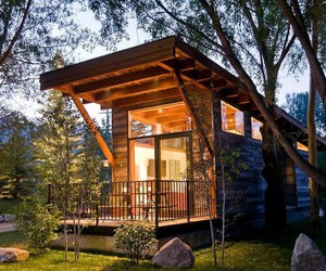 P, small house design, and tiny house design image