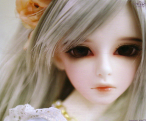 doll, cute, and girl image