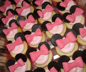 cupcake, bow, and food image