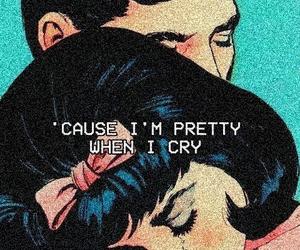 cry, sad, and pretty image