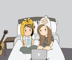 adventure time, boy, and couple image