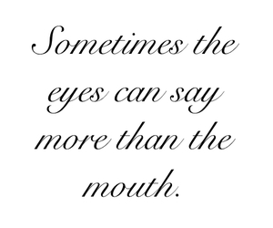 quote, eyes, and life image