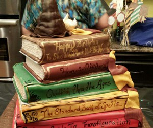 books, harry potter, and spells image