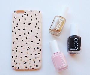 diy, nail polish, and phone case image