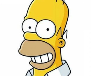 homer simpson, simpsons, and wallpaper image