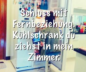 fridge, text, and sprüche image