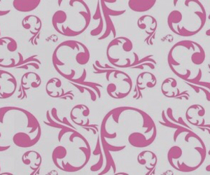curl, pattern, and pink image