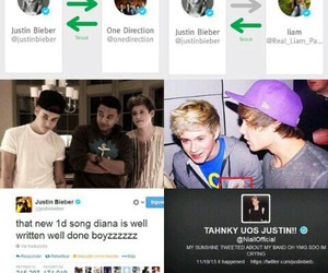 justin bieber, beliebers, and niall horan image