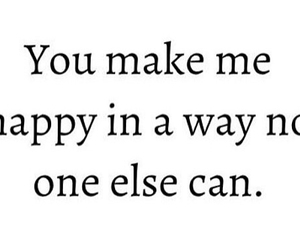 happy, quote, and love image