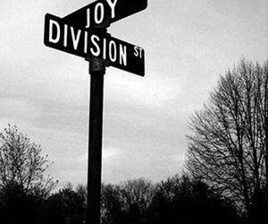 joy division, black and white, and street image