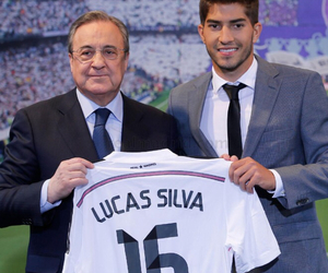 real madrid and lucas silva image
