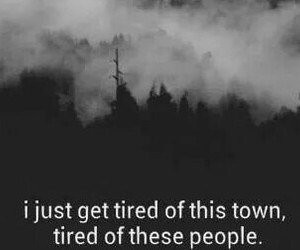 people, tired, and town image