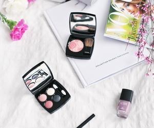 cosmetics and girl image