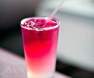 drink, cocktail, and red image