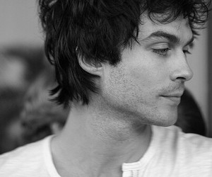 ian somerhalder, damon salvatore, and Hot image