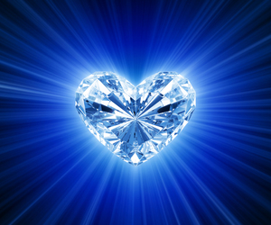 diamond and heart image