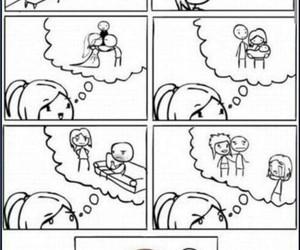 funny, comic, and dance image