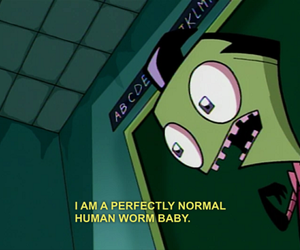 Invader Zim, nickelodeon, and old image