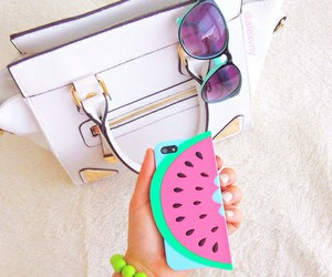 bag, summer, and watermelon image