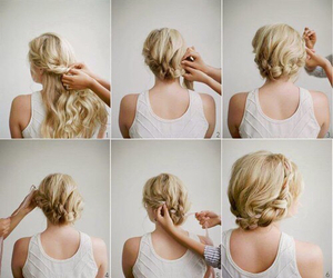beauty, hairstyle, and diy image