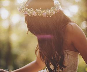 breathe, flower child, and hippie image