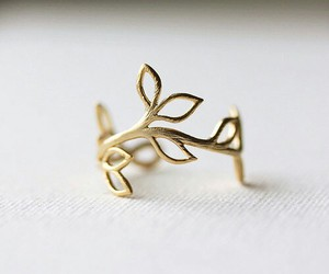 ring, gold, and accessories image