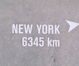 airport, distance, and newyork image