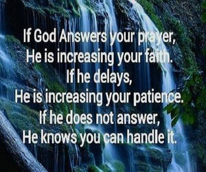 answers, god, and patience image