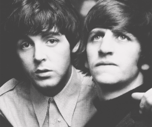 Paul McCartney, ringo starr, and the beatles image