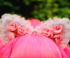 accessories, decora, and dyed hair image