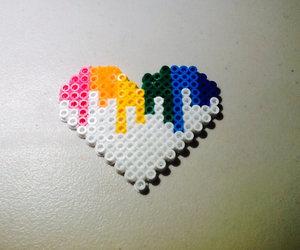 cool and perler beads image