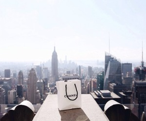 chanel, city, and new york image