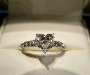 diamond, girl, and gold image