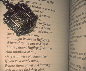 book, harry potter, and house image