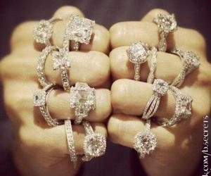 diamond, gold, and fashion image