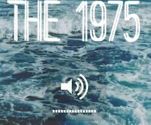 band, blue, and the 1975 image