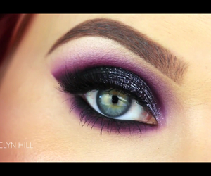 eye, hill, and makeup image
