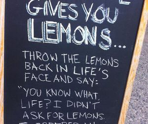 lemon, frases, and life image