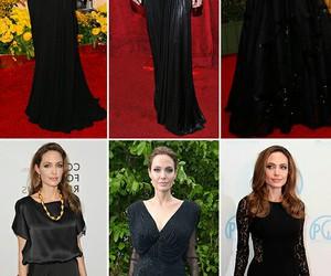 Angelina Jolie, famosos, and moda image