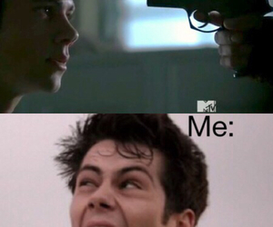 teen wolf and guy image