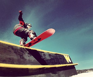 boys, DC, and snowboarder image