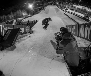 boys, monster, and snowboarder image