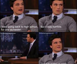 josh hutcherson, school, and high school image