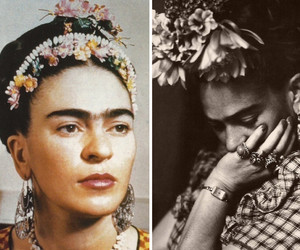 Frida, frida kahlo, and art image