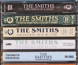 cassettes, the smiths, and girlfriend in a coma image