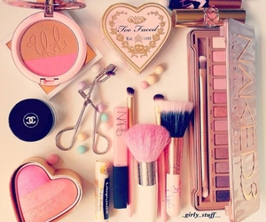 Brushes, makeup, and photography image