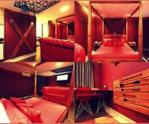 fifty shades of grey, christian grey, and red room image